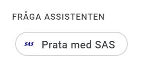 sas röstassistent sverige -smartahogtalare.se