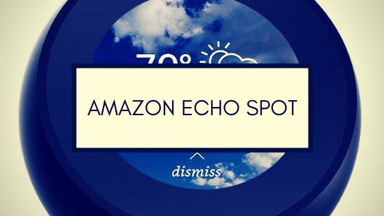 Amazon Echo Spot Smarta Högtalare Sverige